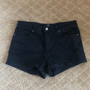 Perfect Condition Black Shorts